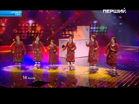EUROVISION 2012 - RUSSIA - Buranovskie Babushki - Party For Everybody [22.05.12]