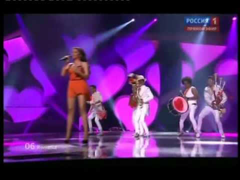 Mandinga-EUROVISION 2012 Semifinal ROMANIA - Румыния