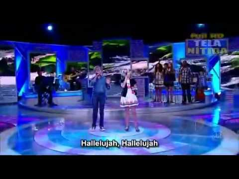 Amazing kids: Jotta A & Michely Manuely - Hallelujah (with english subs).mp4