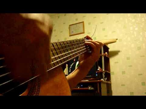 """песня """"сероглазые подруги"""" на гитаре"""